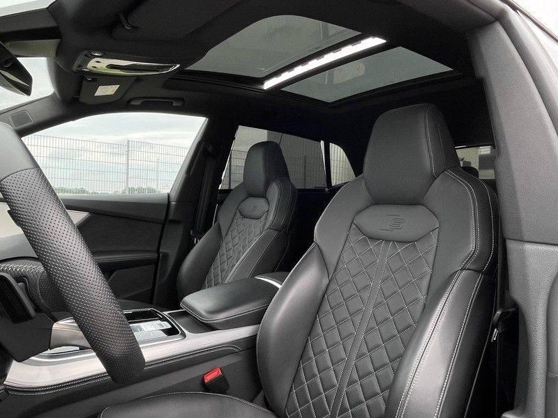 Audi Q8 50TDI 286pk Quattro S-Line Black Optic Lucht RS-Zetels B&O Pano Leder-Dash 22-Inch Soft-Close! afbeelding 23