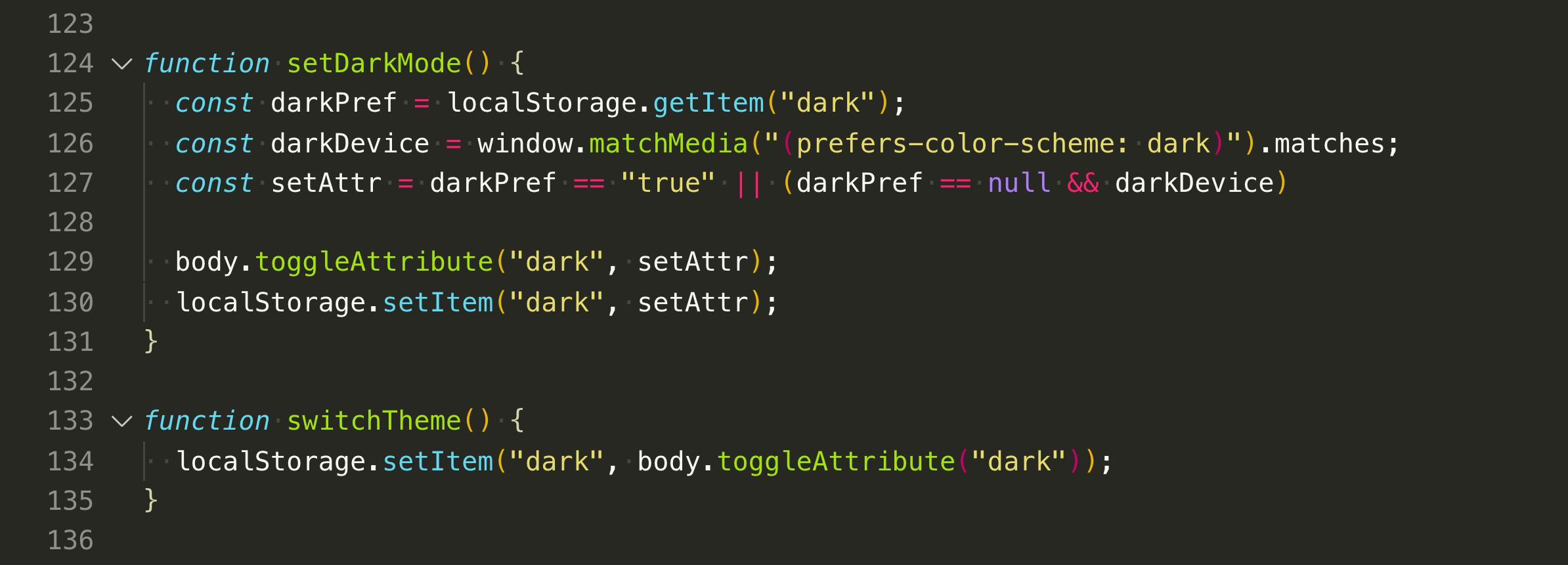 Adding Dark Mode to my website using CSS Variables in 10 minutes