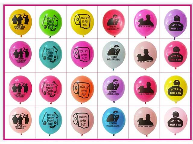 Letterkenny Super Soft Birthday Balloons