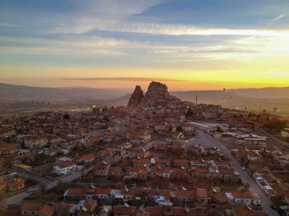 The citadel of Uchisar