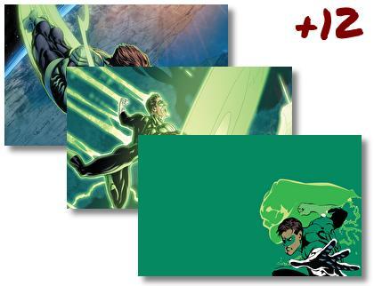 Green Lantern theme pack