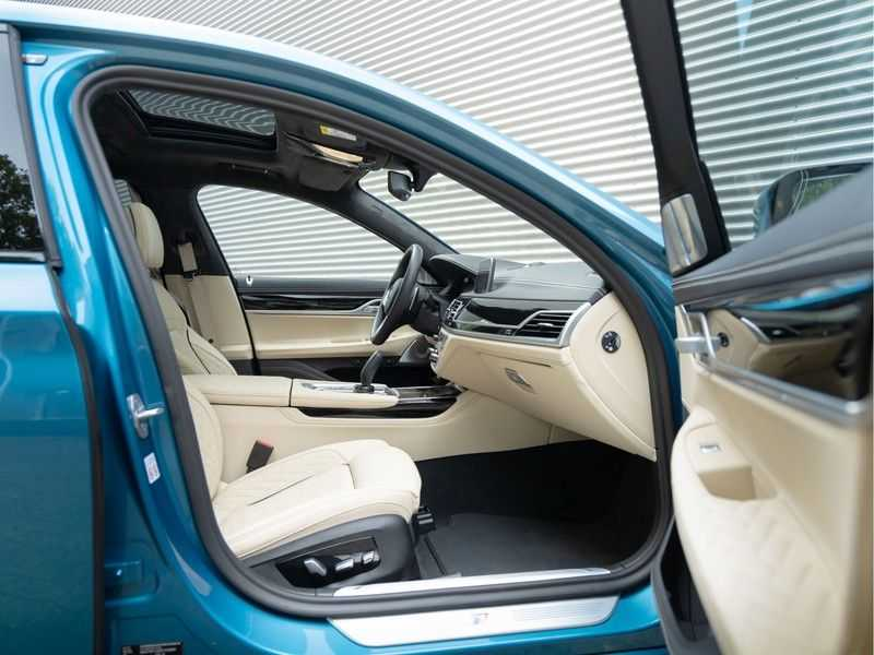 BMW 7 Serie 745Le xDrive Individual ''Maldives Blue'' - Full Option afbeelding 24