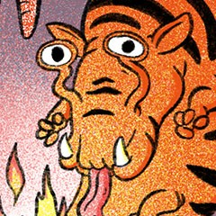 featured image thumbnail for post The Fire Spitting Zebra Worm Level