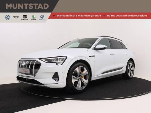 Audi e-tron 55 quattro advanced | Panoramadak | Assistentie Tour/City | Valcona Leder | Keyless Entry | B&O | 360* Camera | Head Up Display | Nieuwaarde: €117.411!