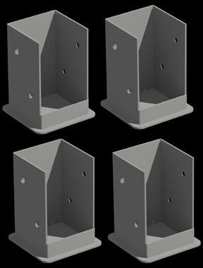 Bolt Down Bracket System Image #4