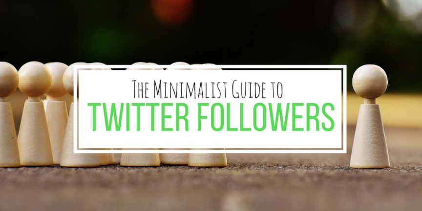 A minimalist guide to Twitter