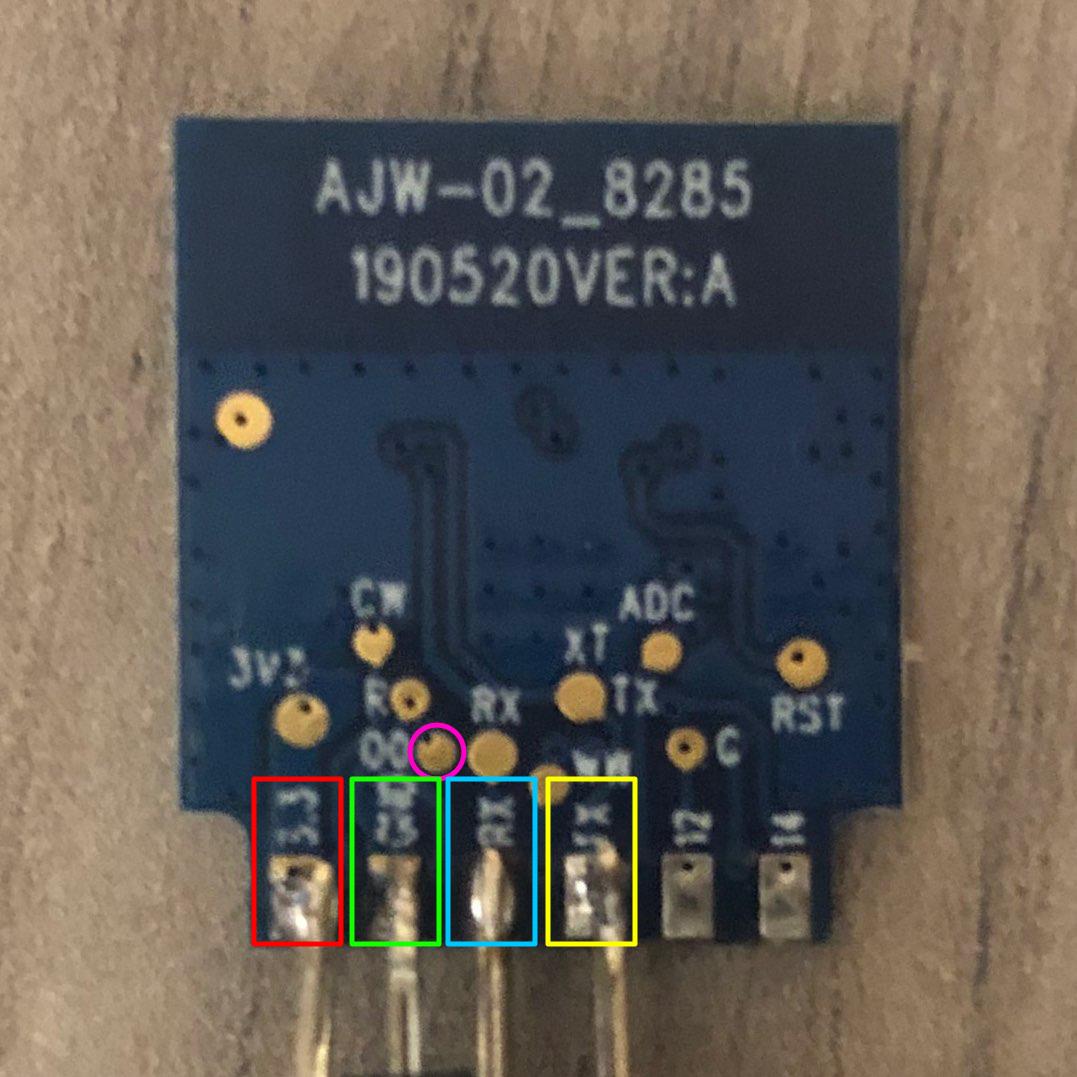 BSD29 Pin Layout