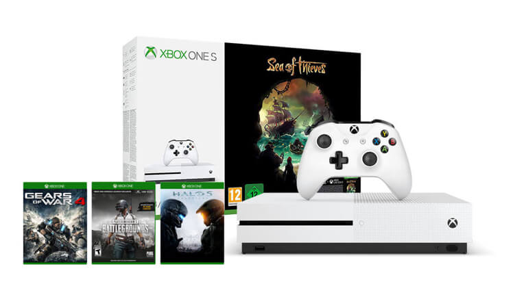 Xbox One S 1 TB<br/>Sea of Thieves Paketi + PUBG