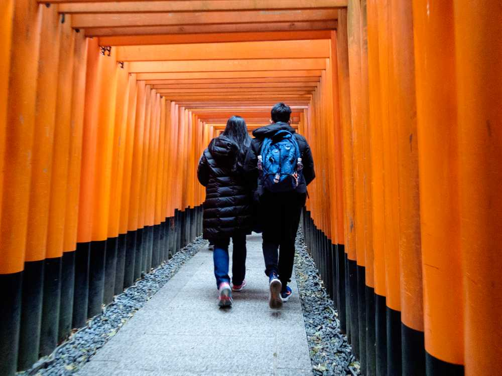Kyoto's Fushimi Inari Shrine (伏見稲荷大社)