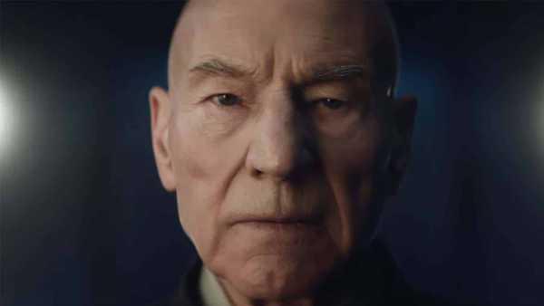 Patrick Stewart como Jean Luc Picard em Star Trek: Picard