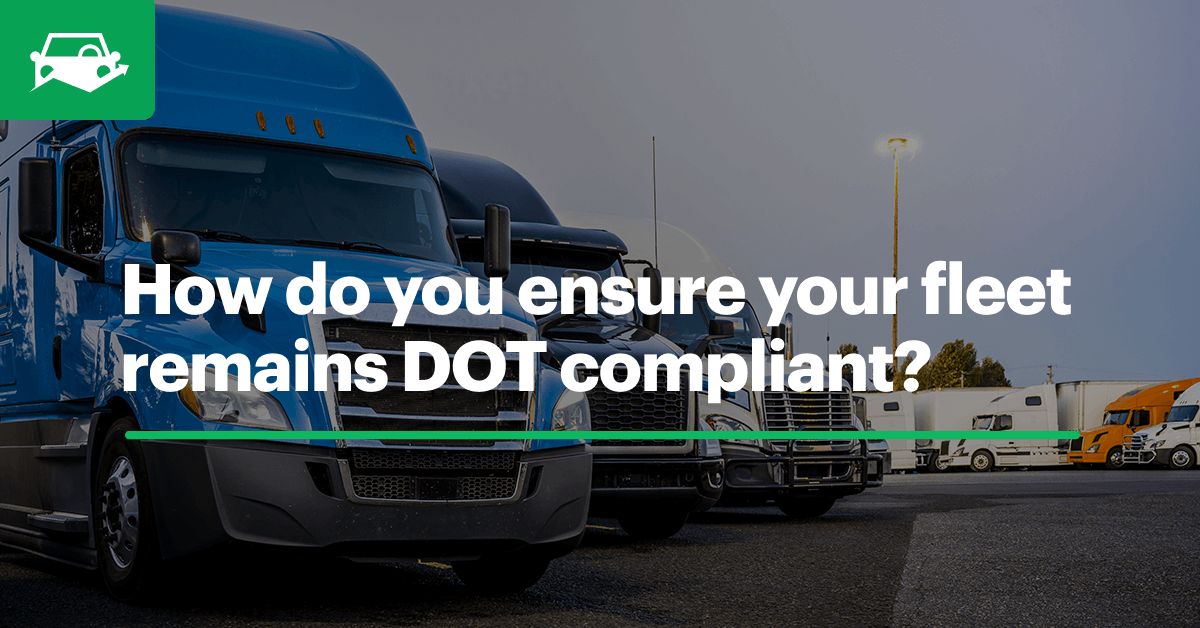 Dot compliance visual