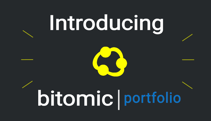 Introducing Bitomic's Crypto Portfolio Manager