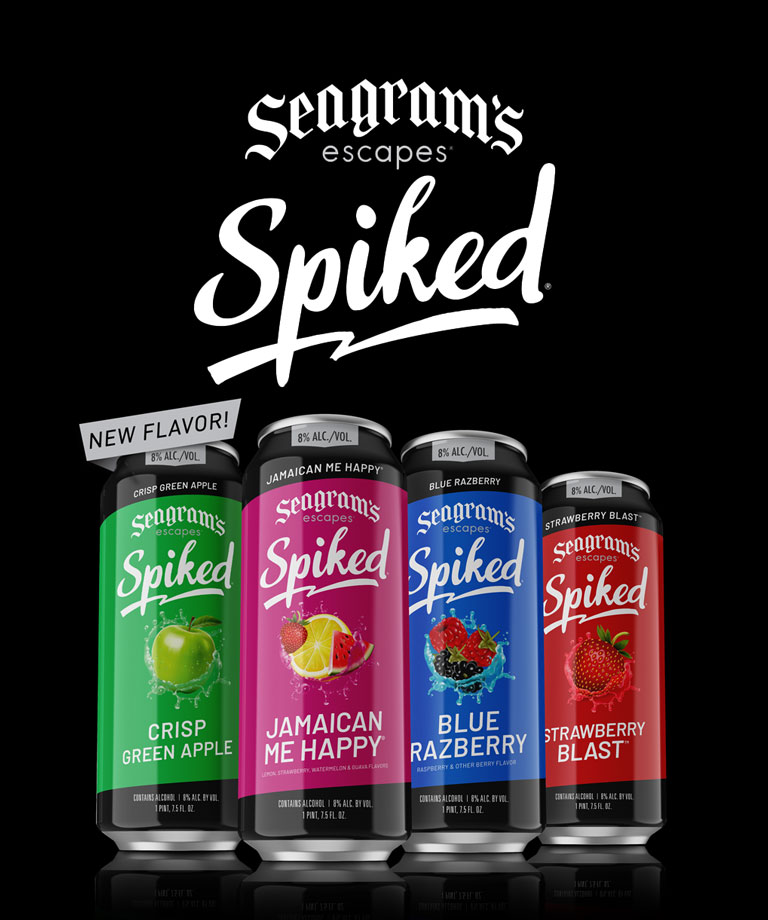 New Seagram's Escapes Crisp Green Apple!