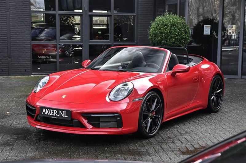 Porsche 911 4S CABRIO SPORTDESIGN+4WSTURING+SPORTCHRONO afbeelding 15