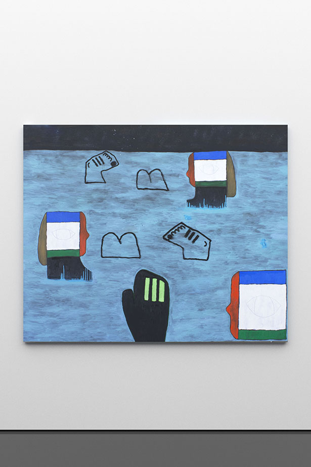 zoom: The Bathers, 2015                oil on canvas                152 × 185 cm