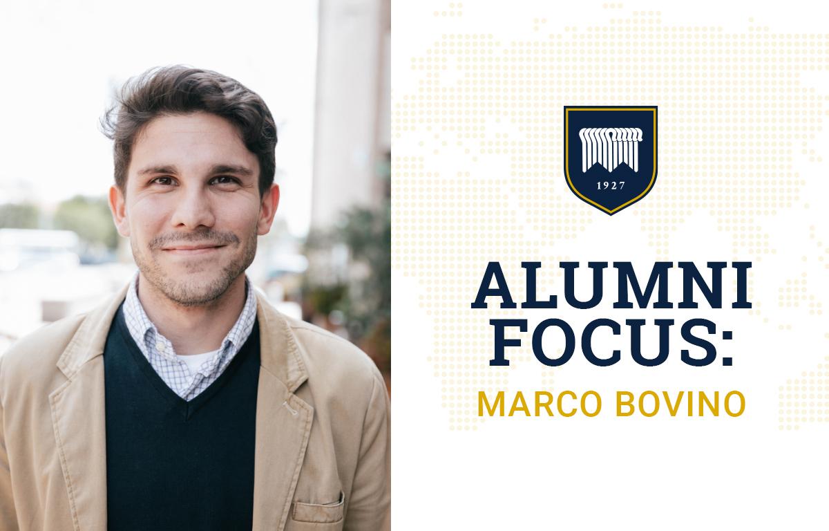 Alumni Focus: Marco Bovino image