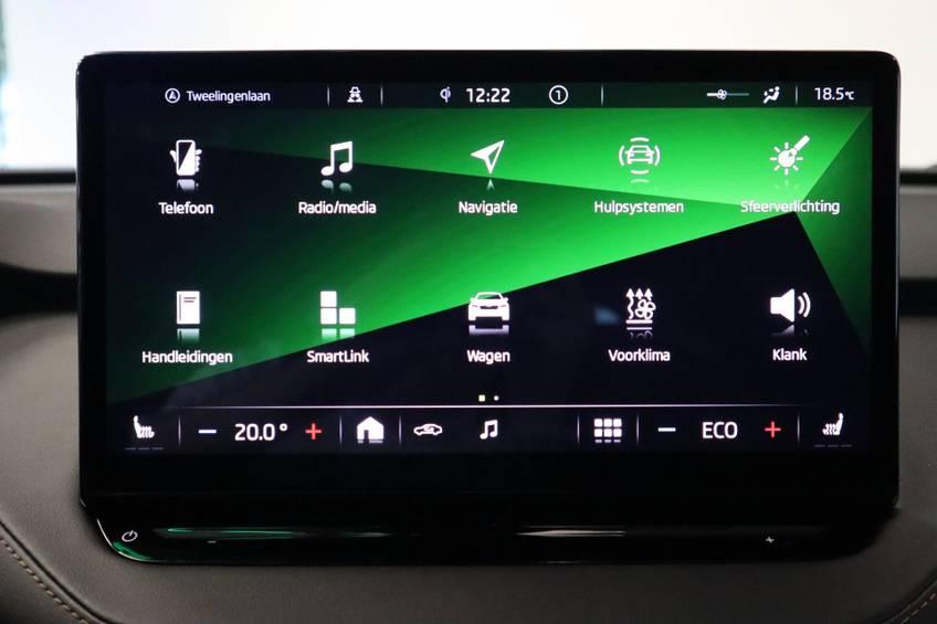 Škoda ENYAQ iV 80 First Edition Full-led Elec.Trekhaak 21'inch lmv Direct Leverbaar!! afbeelding 15