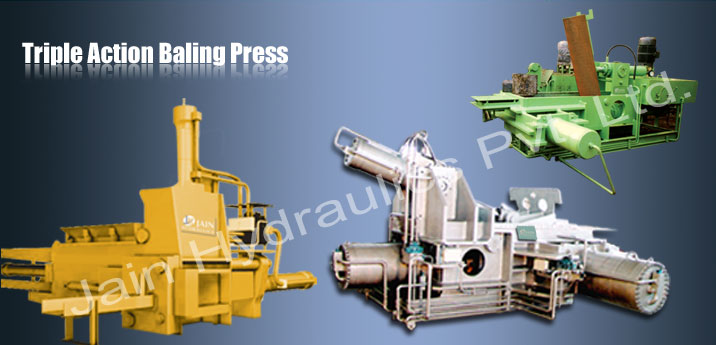 Scrap Baler Press, Scrap baler machine manufacturer India