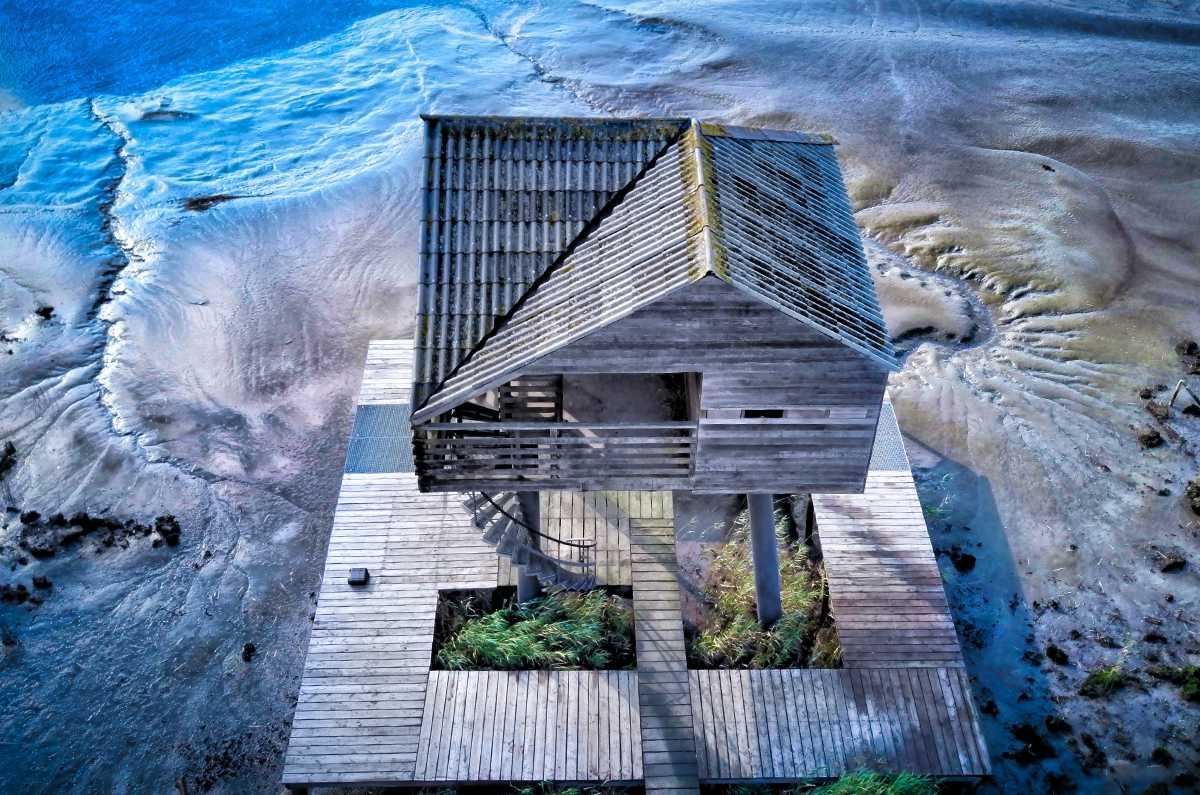 Custom home on the beach