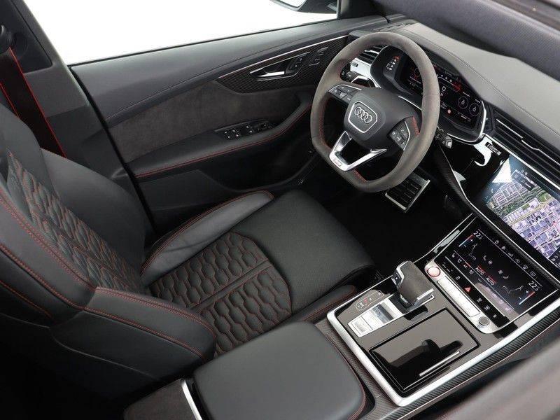 Audi RSQ8 4.0 TFSI 600 pk RS Q8 quattro | Pano.Dak | Carbon | Trekhaak | Keyless-Entry | 360Camera | B&O Sound | Alcantara | afbeelding 4