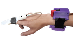 Haptic Sketches on the Arm for manipulation in virtual reality