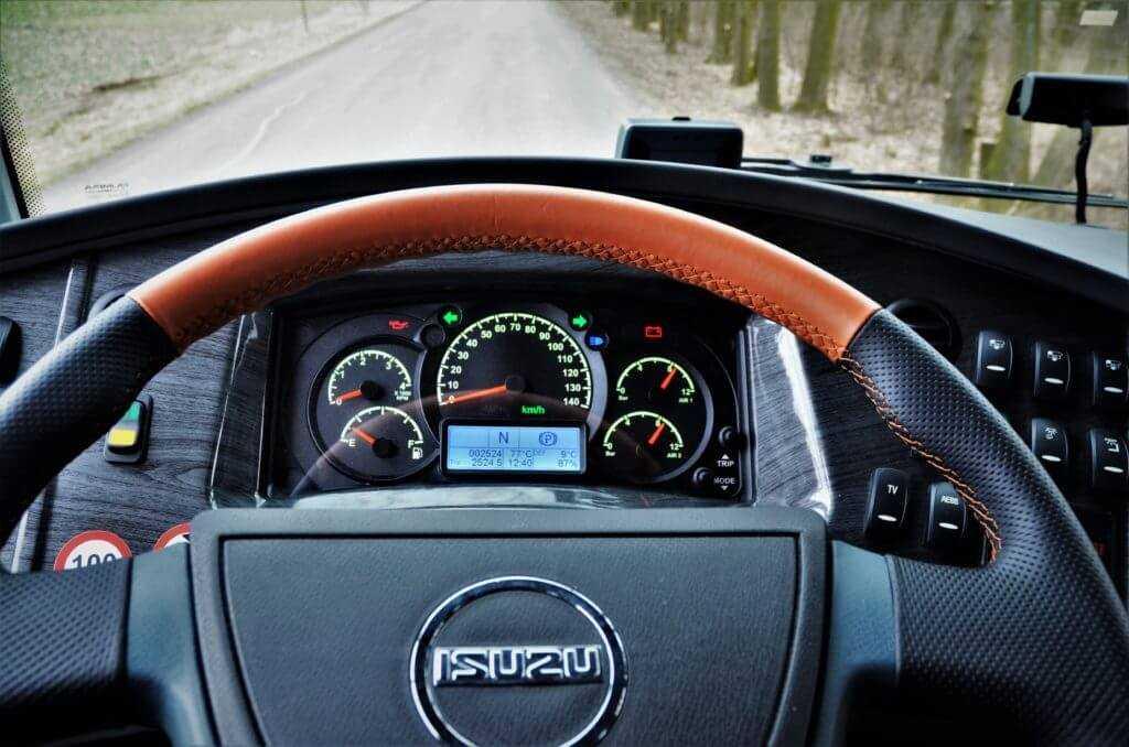 Jarní testovací jízdy autobusů ISUZU pro zákazníky
