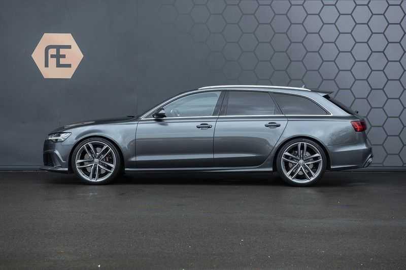 Audi RS6 Avant 4.0 TFSI quattro Pro Line Plus Vol leder + Stuurwielverwarming afbeelding 5