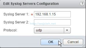 Configuring Syslog server for VMware NSX components - 15