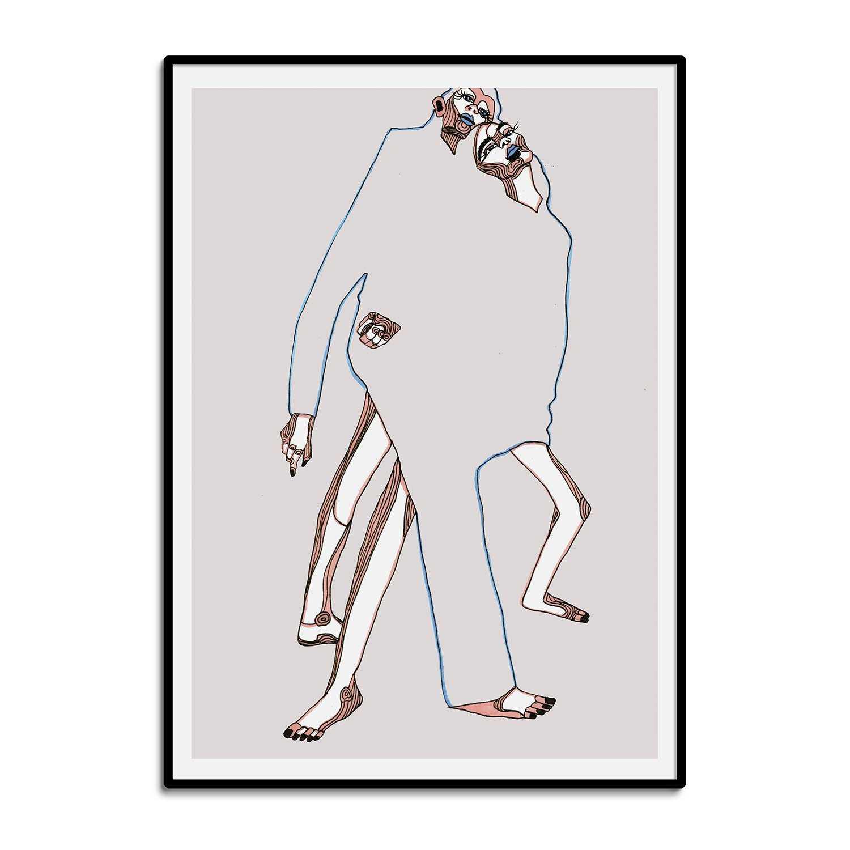 'Corresponding Parts' Giclée Art Print