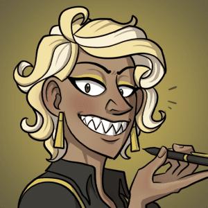 Janus grins.