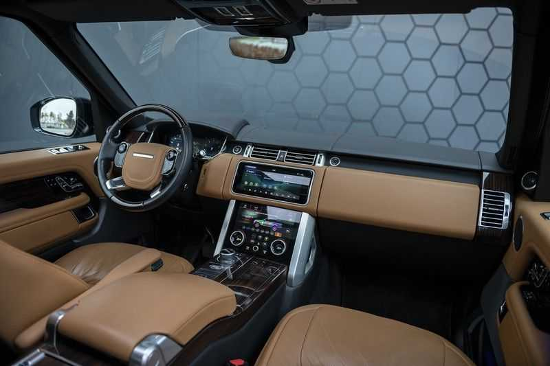 Land Rover Range Rover 5.0 V8 SC LWB Autobiography Rear Seat Entertainment + Head Up + 360 Camera + ACC afbeelding 7