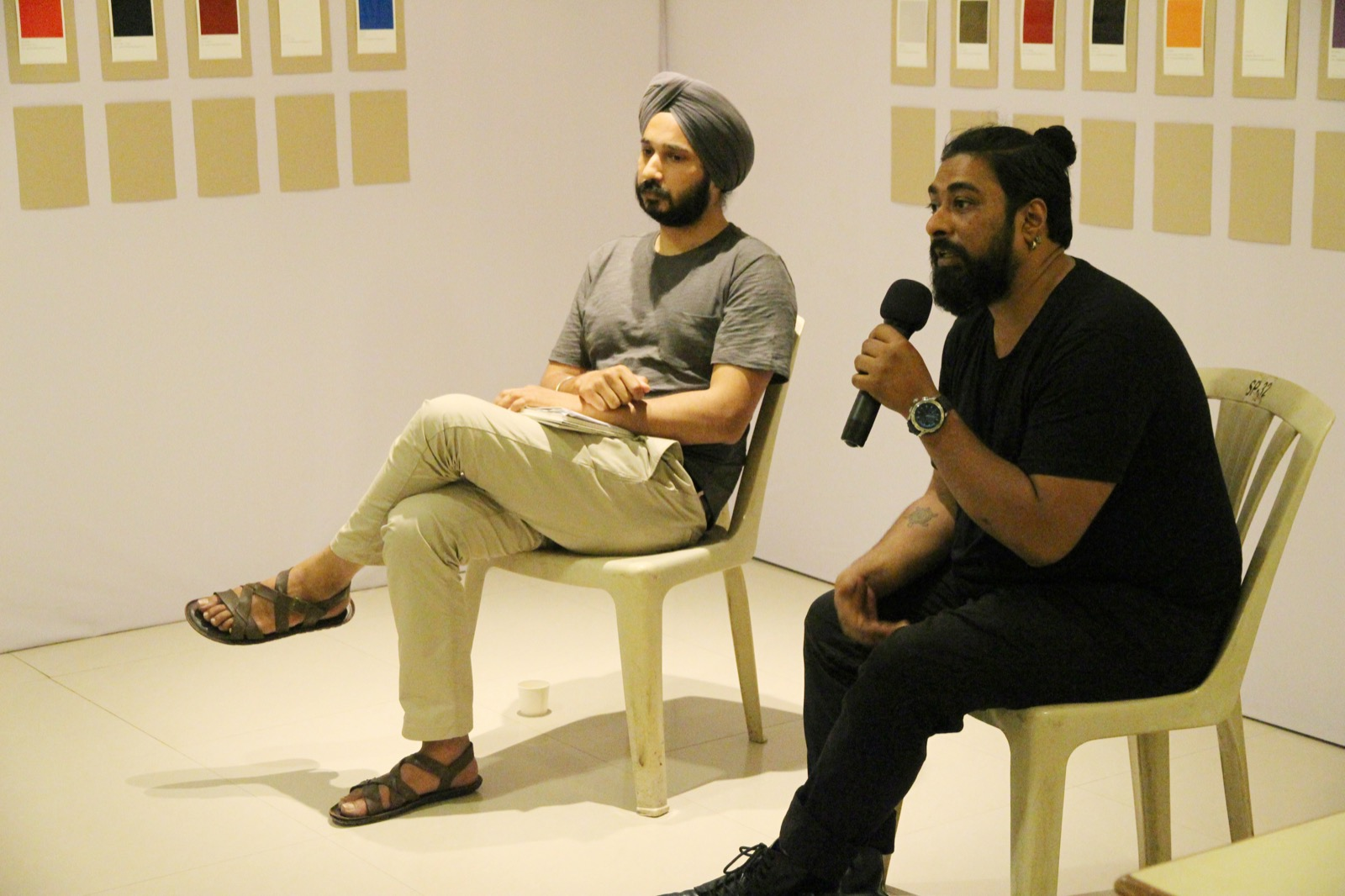 Performance and conversation with Ramneek Singh