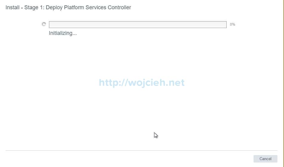 vCenter Server Appliance 6.5 with External Platform Services Controller - 11