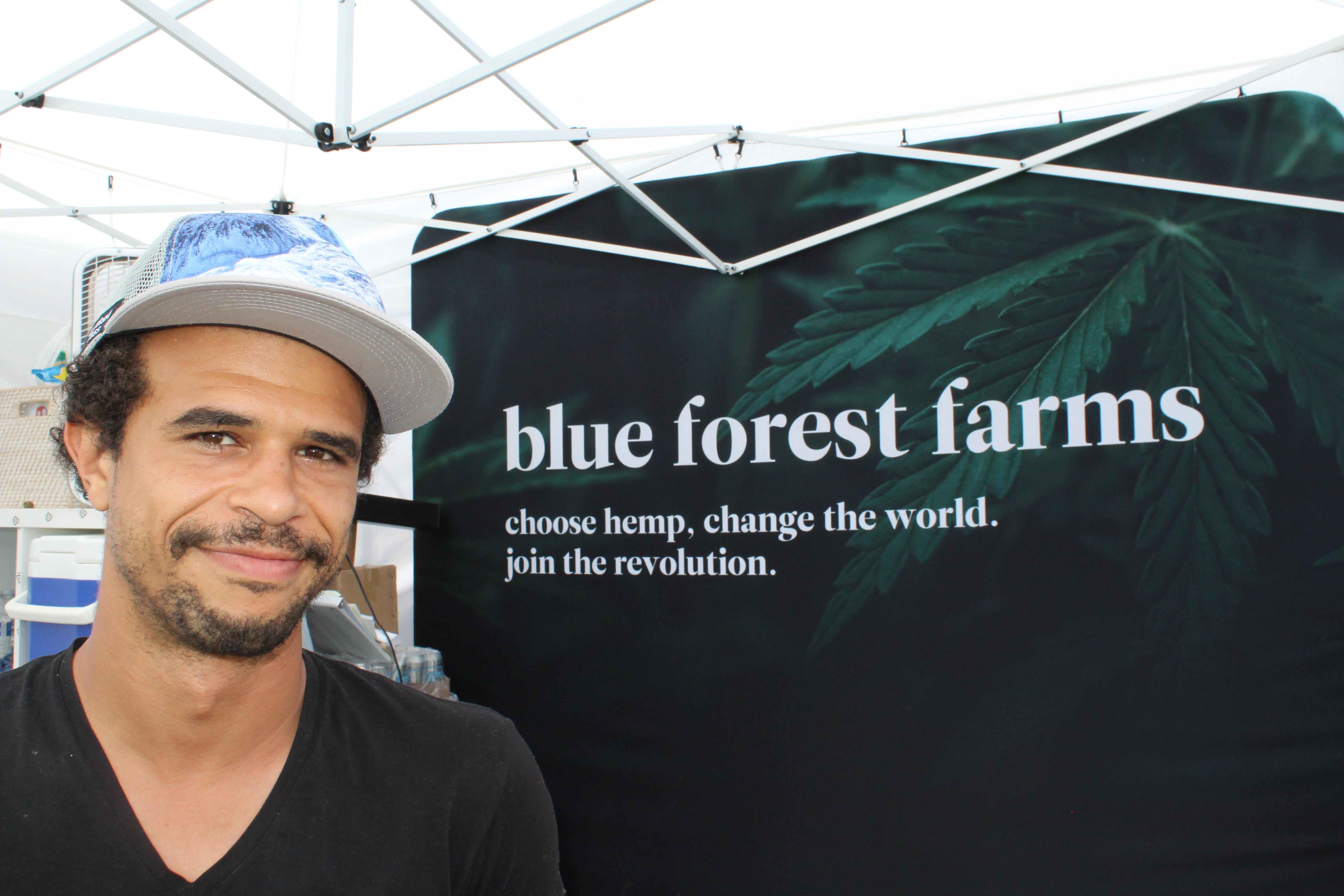 Blue Forest Farms Co-Founder Zach Dorsett