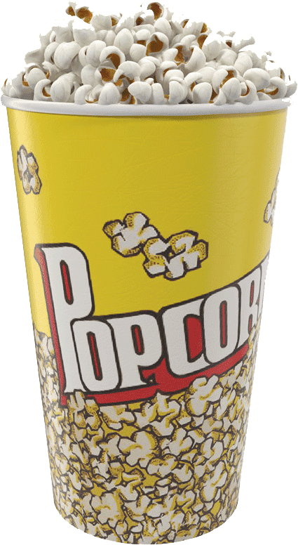 Cup of popcorn