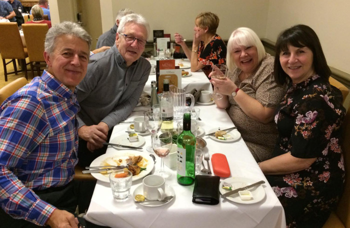 """First time Potters guest Debbie: """"We had so much fun we booked another night whilst we were there"""""""
