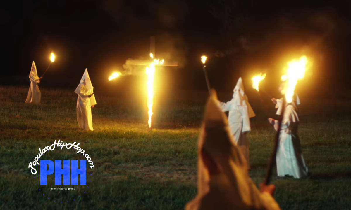 Klu Klux Klan Rally in a Yard to Turn The Cross Of Church in A$AP Rocky's New Rap Video, Gunz N Butter