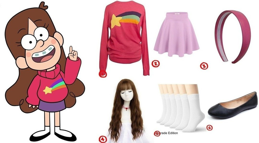 dress like gravity falls mabel pines costume for halloween 2018