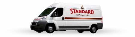 Standard Coffee Service delivery van