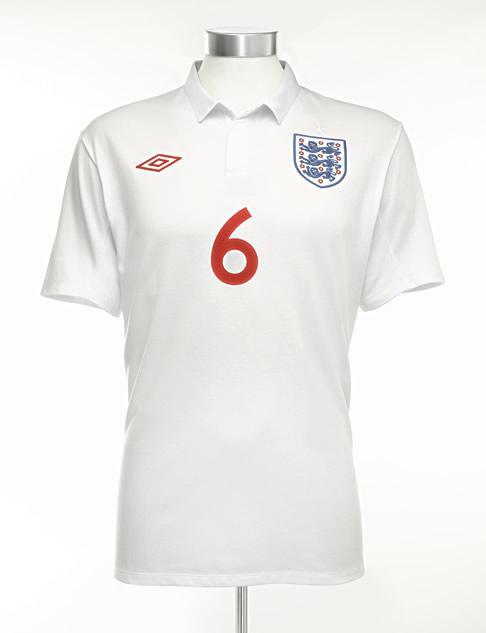 The new 2009/11 England shirt