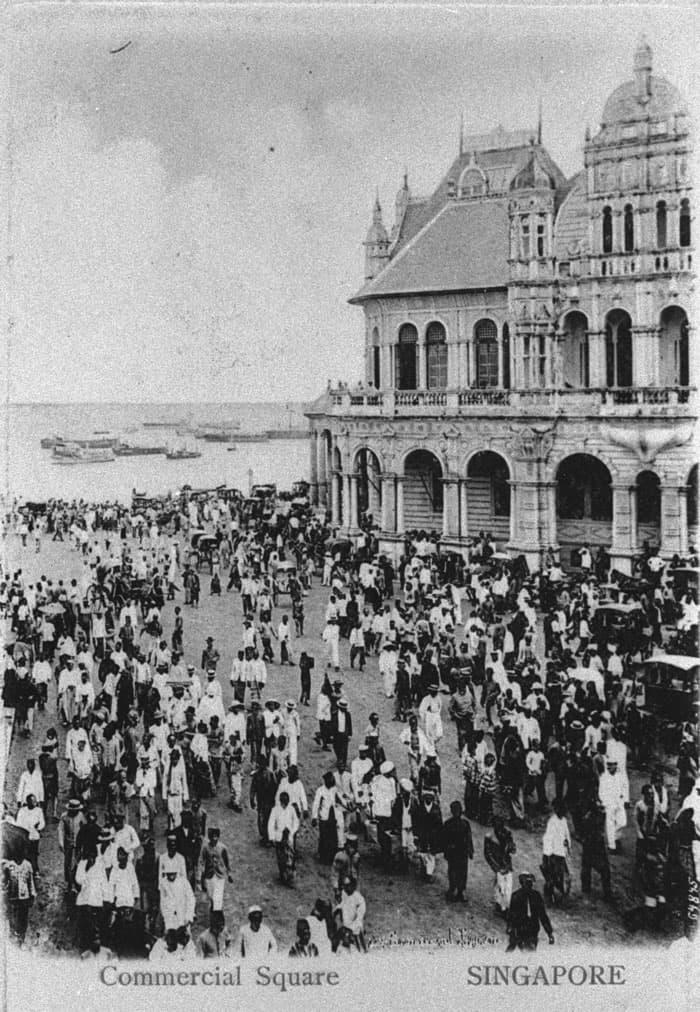 Fullerton Square, 1900s