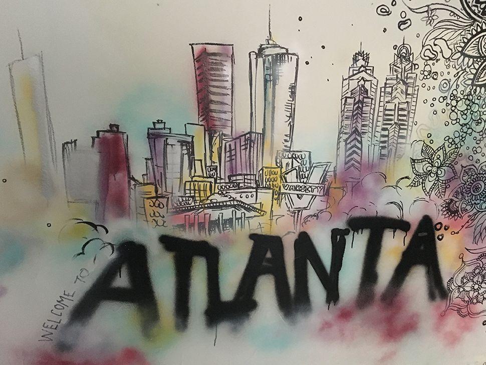 Photo of graffiti in Atlanta.