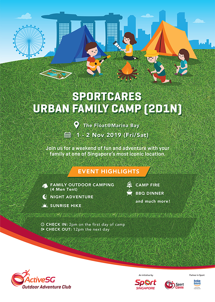 SportCares Urban Family Camp