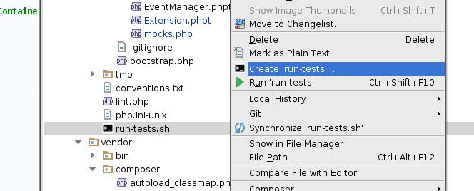 phpstorm-tester-create-bashrunner