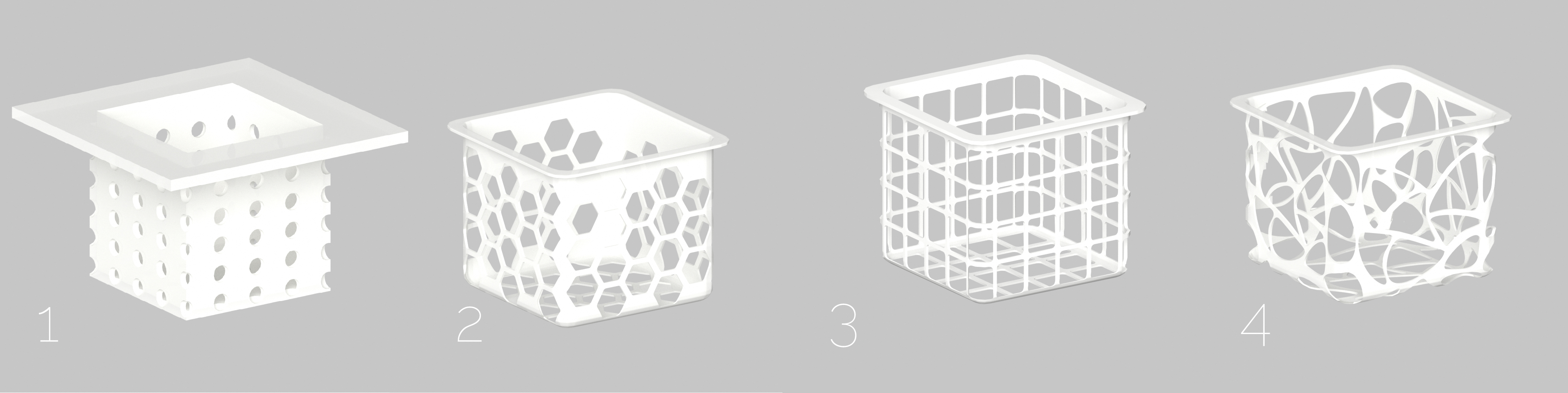 Iterated forms of net planters