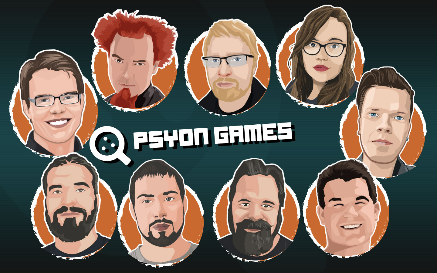 Image of Psyon Games team members