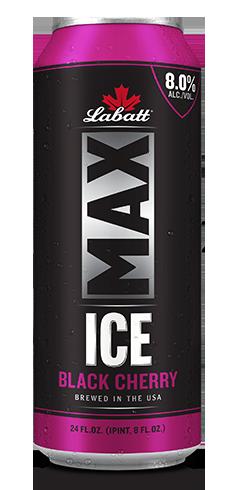 Labatt Max Ice Black Cherry