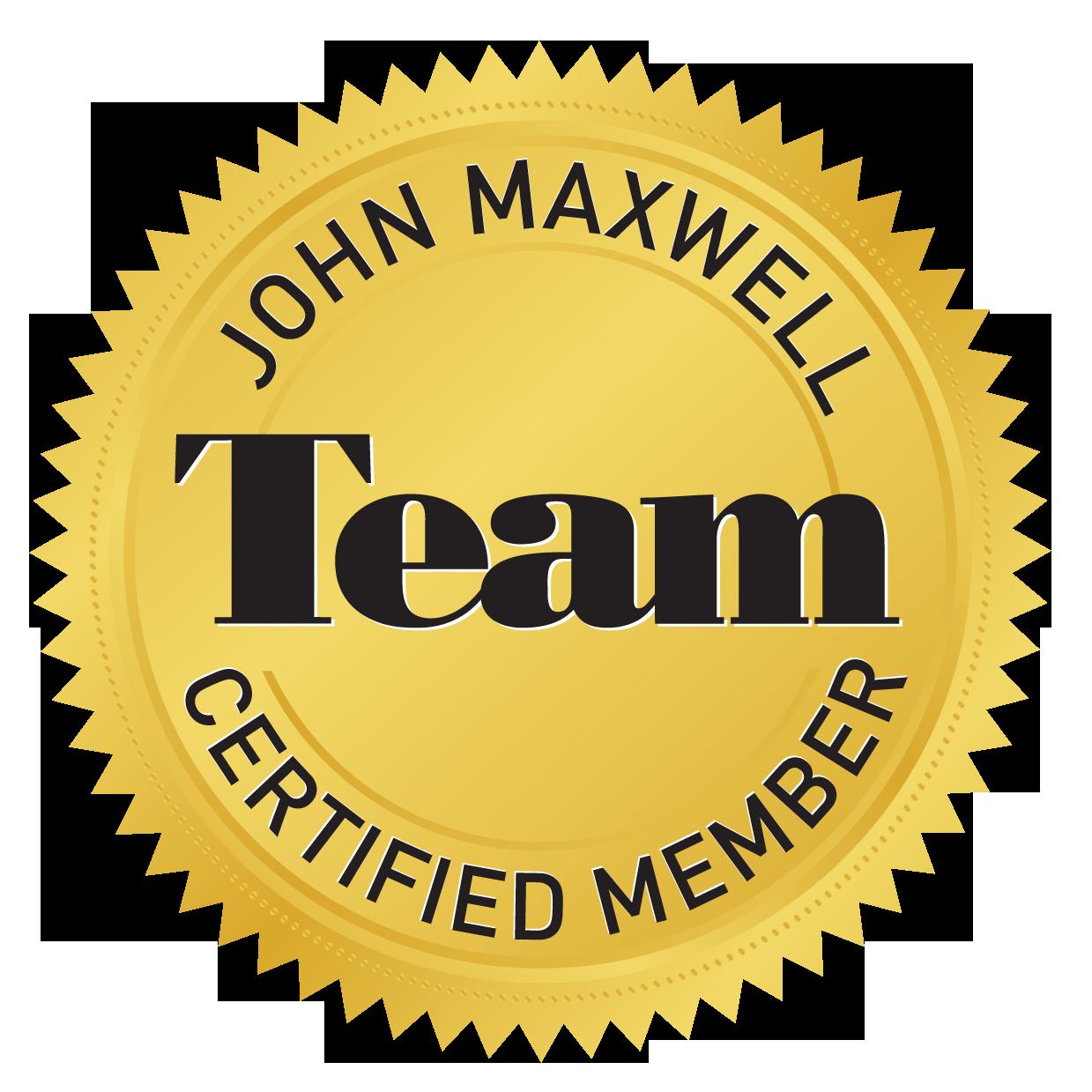 John Maxwell Certification logo