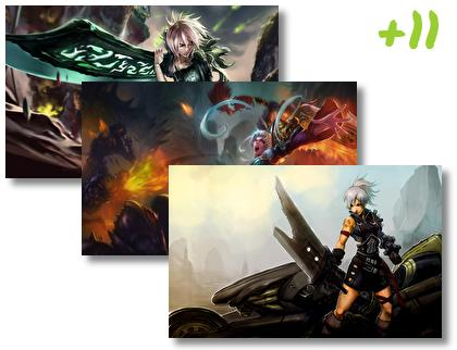 Riven theme pack