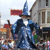 mazey day golowan festival 2009